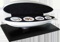 Cеребряные монеты «Дирижабли»
