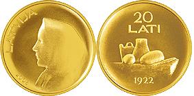 Латвийская монета признана лучшей в 2009 году
