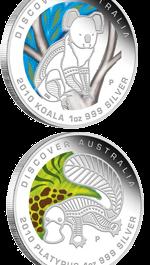 Пять новых монет серии «Мечта» от Австралии
