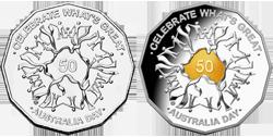 Монеты в честь Дня Австралии