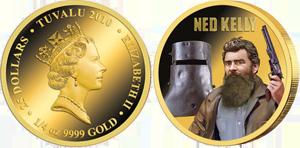 Монета в честь 130-летия со дня казни Неда Келли