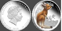 Монета «Детёныш кенгуру» для любителей австралийских животных