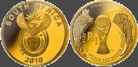 Монеты в честь 19-го чемпионата мира по футболу ФИФА