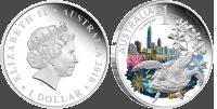 Серебряная монета «Квинсленд»
