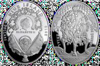 Вторая монета серии «Яйца Фаберже»
