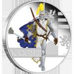 Серия «Великие воины» монета «Рыцарь»