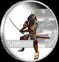 Монета «Самурай» серии «Великие воины»