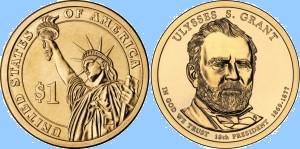 18-й Президент США — Улисс Грант