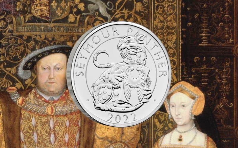 Первая монета в новой британской серии — Звери Тюдоров